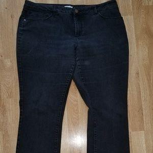 Coldwater Creek Black Jeans Size 18 X 33